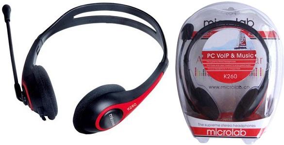 Tai nghe Microlab K260