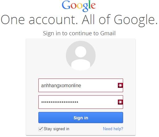 Trang đăng nhập Gmail hôm nay của bạn có gì khác ?