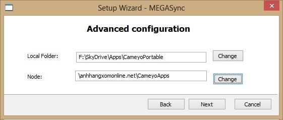 MegaSync - Ứng dụng đồng bộ dữ liệu cho Mega.co.nz