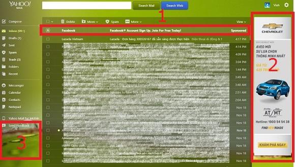 Remove Yahoo!Mail Ads cập nhật v1.1