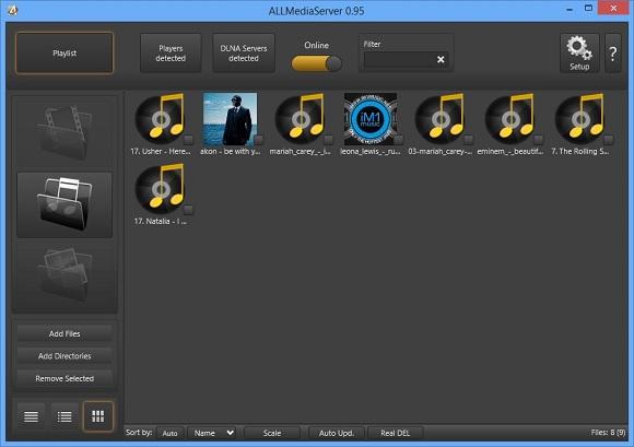 ALLMediaServer - Biến máy tính thành trung tâm giải trí DLNA Server