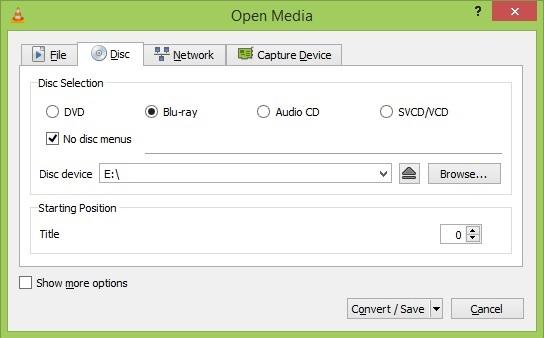Những tính năng Convert của VLC có thể bạn chưa biết