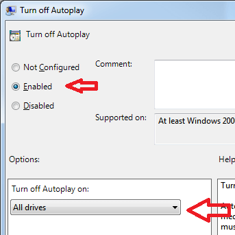 Disable Autoplay Config