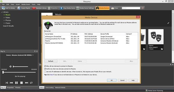 Mezzmo - Nhận key bản quyền miễn phí phần mềm DLNA Server