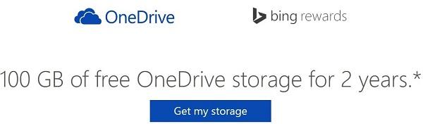 Tham gia Bing Rewards, nhận 200GB SkyDrive và được tặng tiền miễn phí