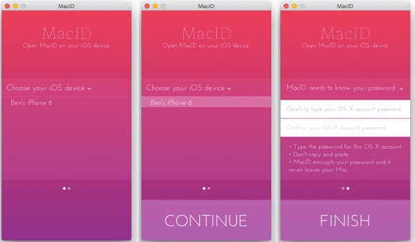 MacID for iOS - Khóa/Mở khóa laptop Mac từ iPhone