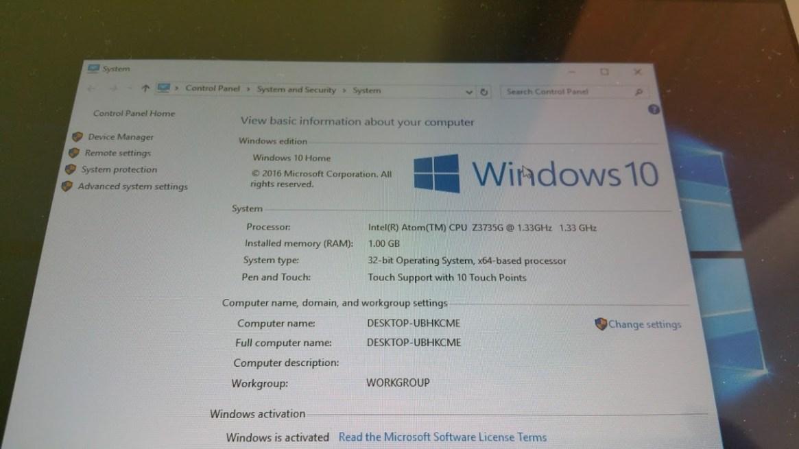 Toshiba Encore 2 Windows 10 clean install
