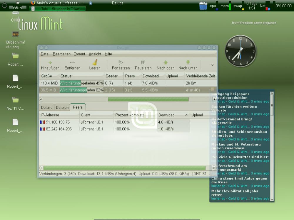 Linux Mint 5