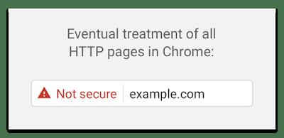 Not Secure Chrome Address Bar