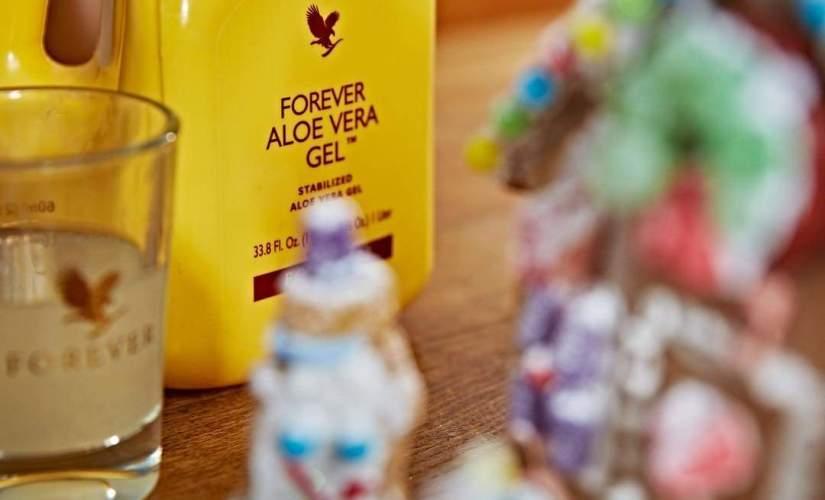Hỗ trợ tiêu hóa mạnh mẽ Forever Aloe Vera Gel 015 Flp