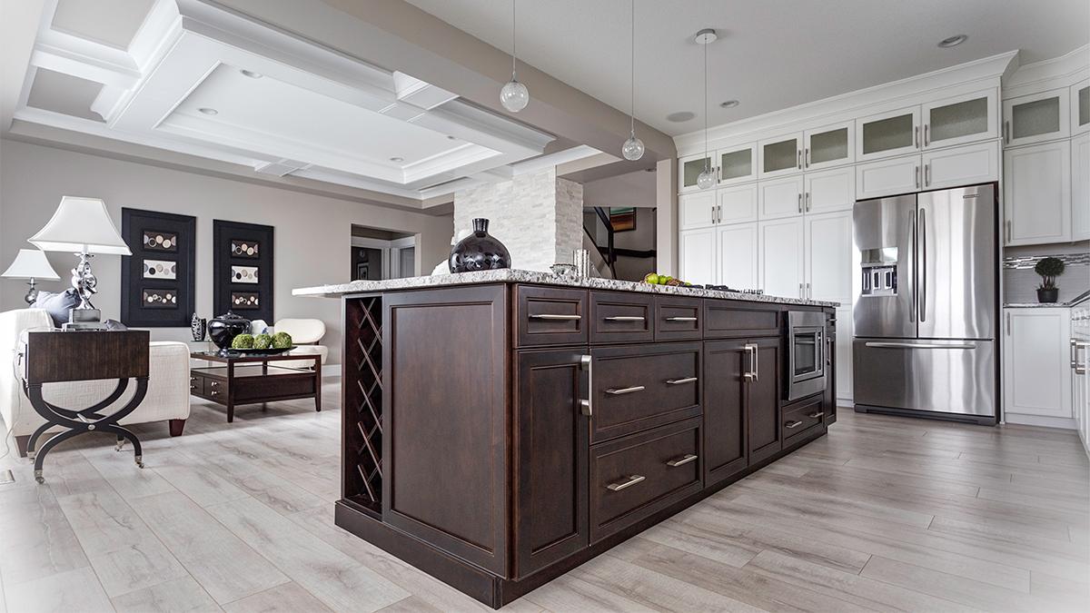 Montorio Homes show home kitchen