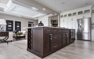 Montorio Homes show home kitchen