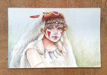Mononoke Hime - Watercolor
