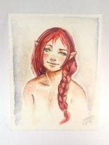 Elf - Watercolor