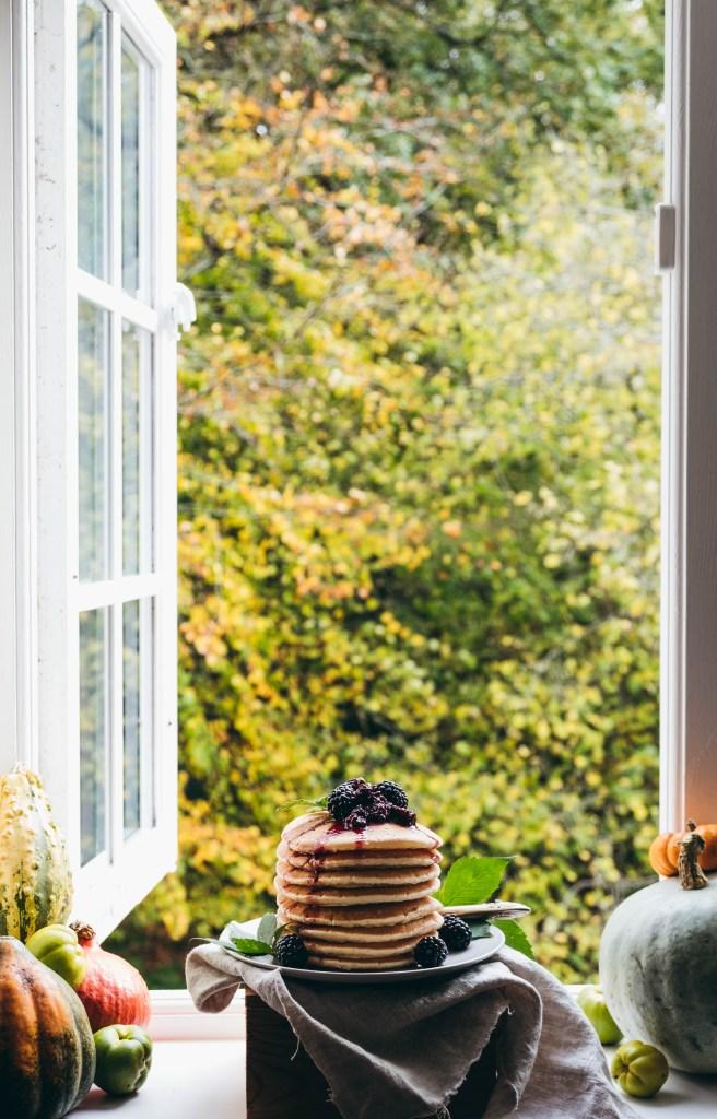 Pancakes, autumn