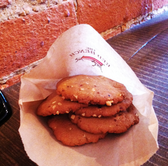 Red Bench Cookies