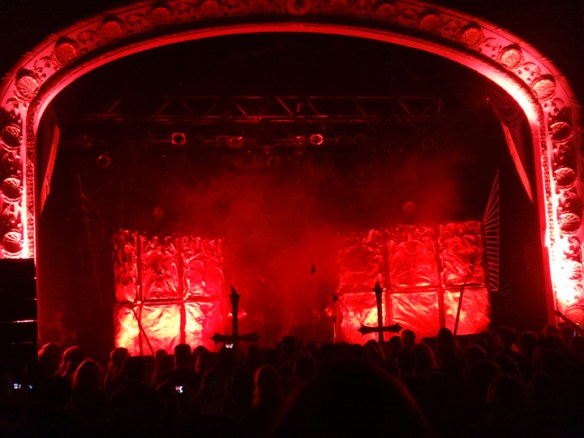 Watain Stage