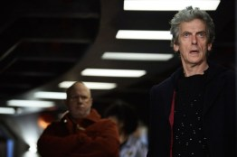 WARNING: Embargoed for publication until 00:00:01 on 09/05/2017 - Programme Name: Doctor Who S10 - TX: 13/05/2017 - Episode: Oxygen (No. 5) - Picture Shows: ***EMBARGOED UNTIL 00:01hrs 9th MAY 2017*** Nardole (MATT LUCAS), The Doctor (PETER CAPALDI) - (C) BBC/BBC Worldwide - Photographer: Simon Ridgway