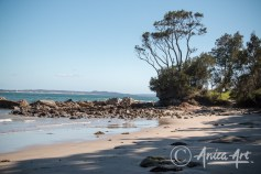 Northern end of Pylons Beach - Bendalong