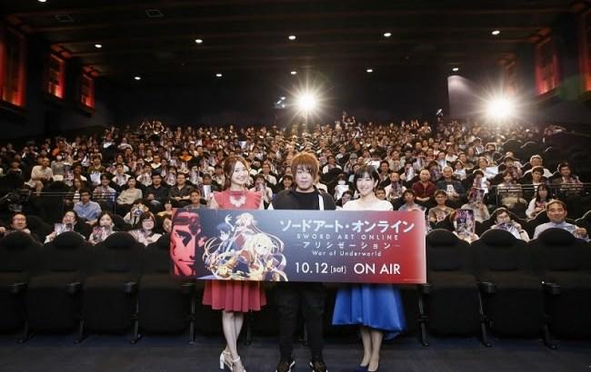『SAOアリシゼーションWoU』先行上映会オフィシャルスチール到着!