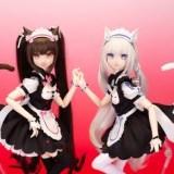『ネコぱら』ショコラ・バニラのかわいいドールが登場!画像が多数公開【AniFeeシリーズ】