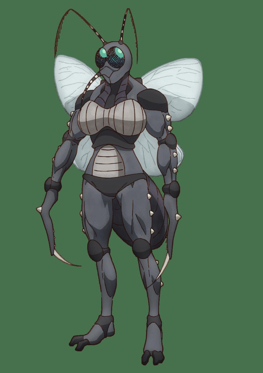 『ド級編隊エグゼロス』キセイ蟲X
