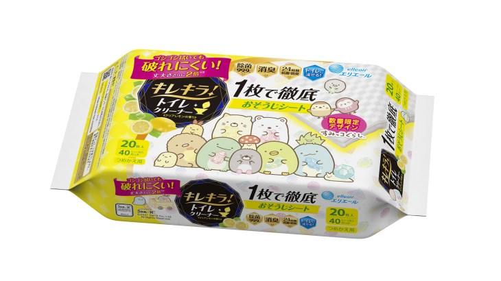 『すみっコぐらし』トイレクリーナーおそうじシート7月21日発売!