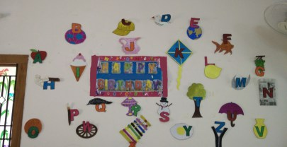 Alphabet Theme Birthday Party Decor