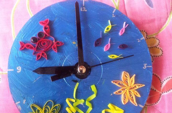 Paper Quilling Clock