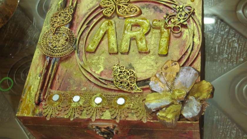 Art Box – Mixed Media Craft