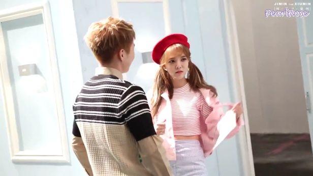 [ENGSUB] Jimin (AOA) ft. Xiumin (EXO) - Call You Bae (야 하고 싶어) MV making_00_00_11_03_34