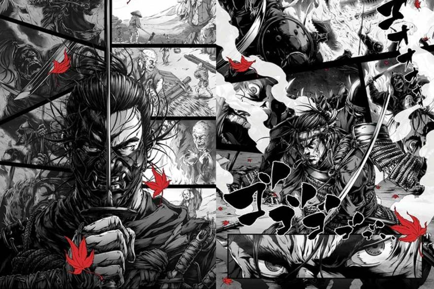 afro-samurai-sghost-of-sushima-posters
