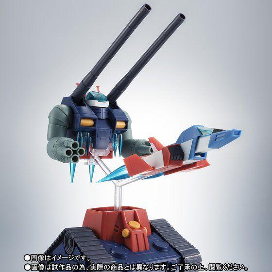 プレミアムバンダイ新着!ROBOT魂 〈SIDE MS〉 RX-75-4 ガンタンク&コア・ファイター射出パーツ ver. A.N.I.M.E. グッズ新着情報