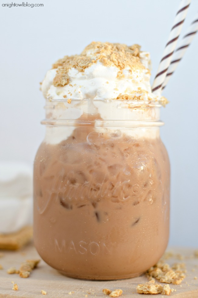Smores Iced Coffee
