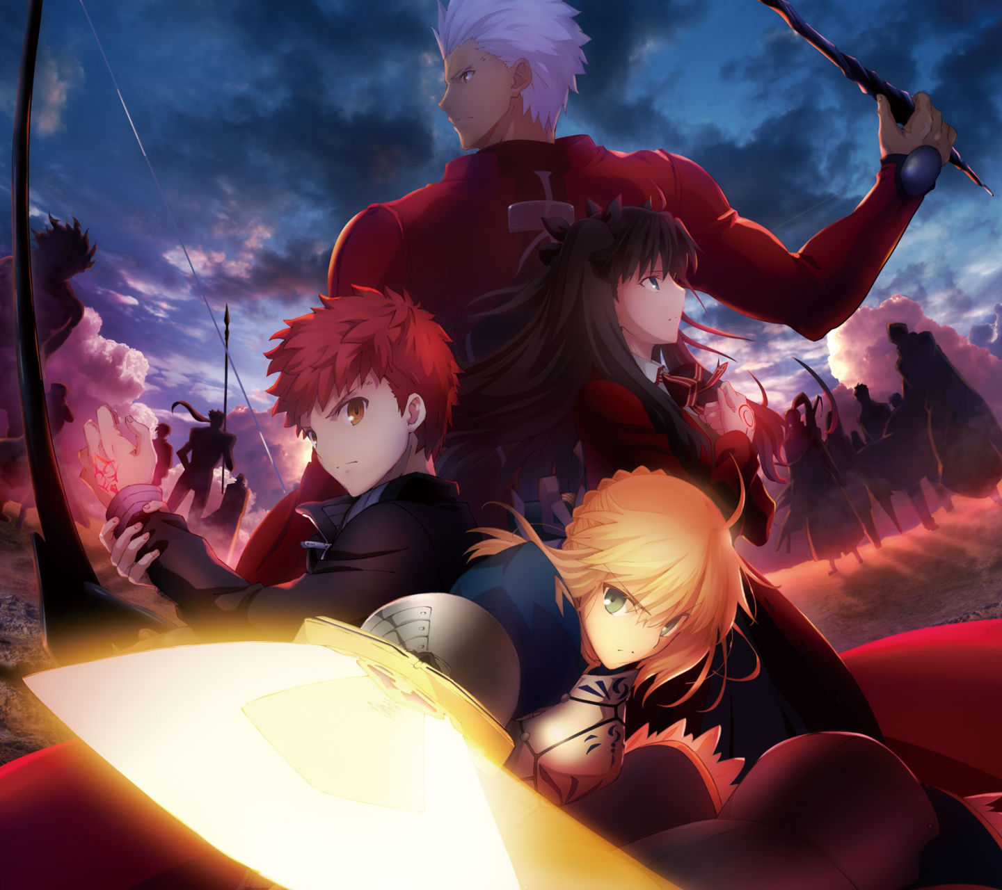 Fate Stay Night Android壁紙 画像 1 1440 1280 アニメ壁紙ネット Pc Android Iphone壁紙 画像