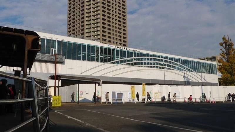 西武池袋線 石神井公園駅