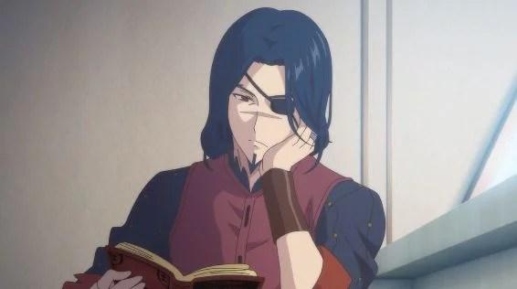 本を読むドラグノフ