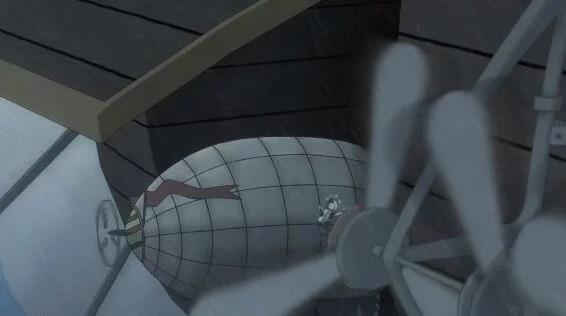 小型飛行船