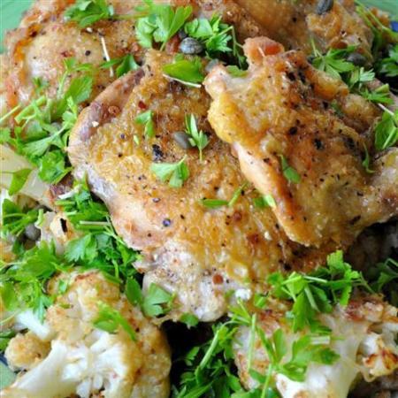 Chicken & Cauliflower