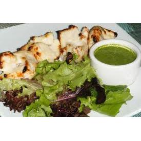 Chicken Tikka & Green Chillis (fairly hot)