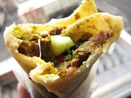 Mixed Kebab Roll