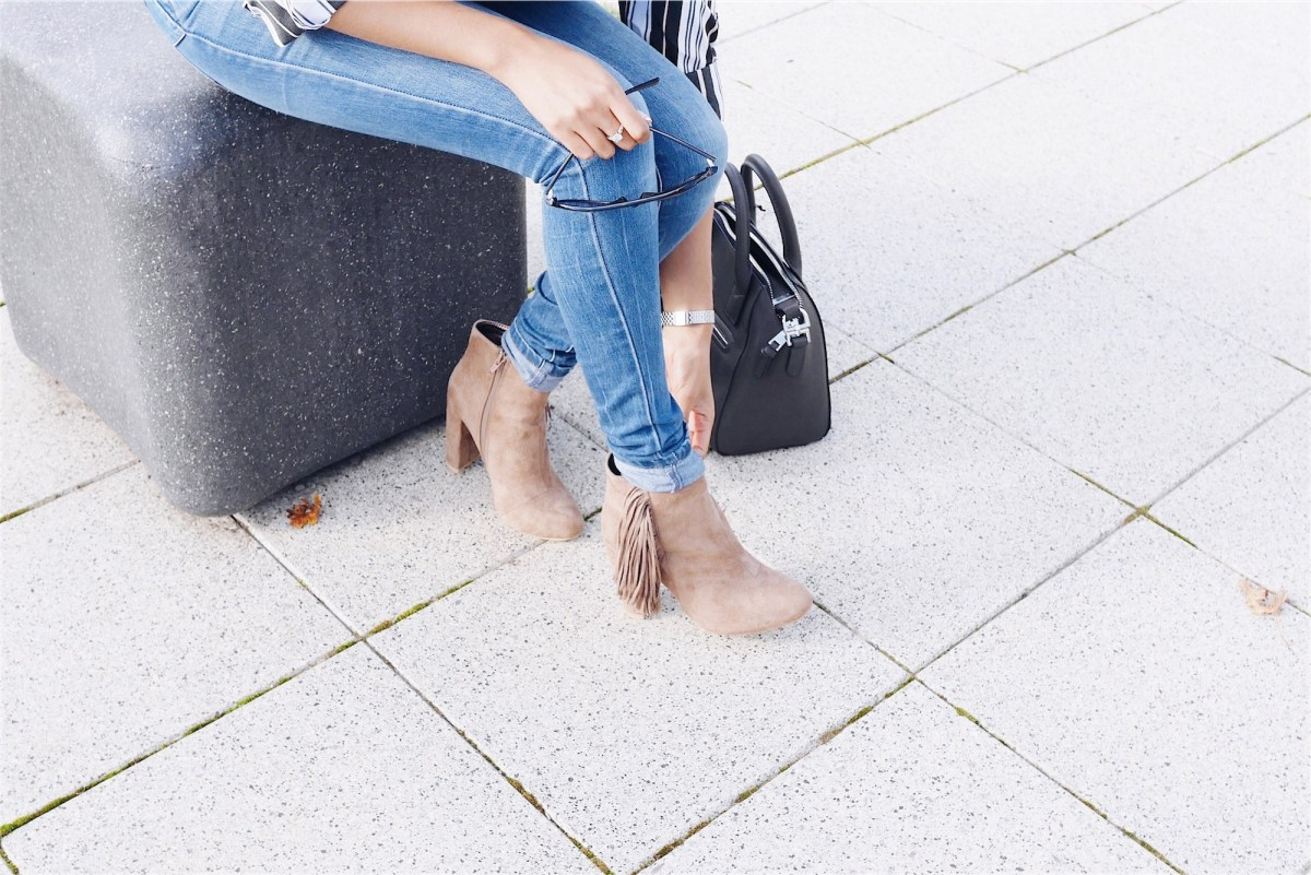 In The Style fringe boots