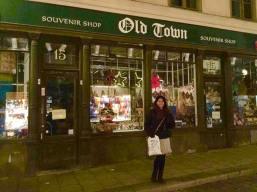 Old town Souvenir shops