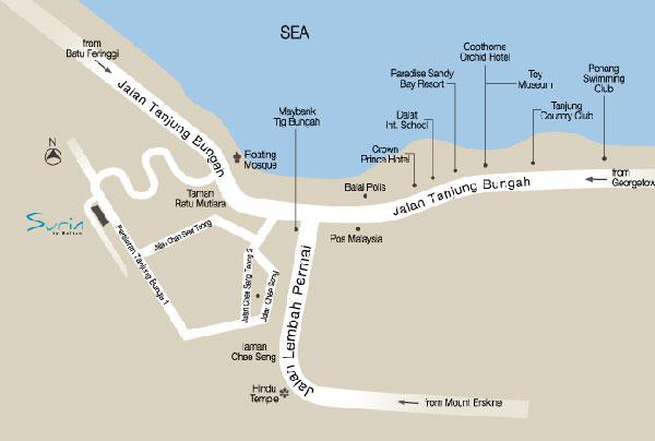 Surin_Location_Map