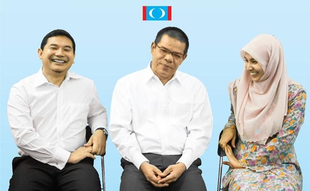 Image result for Nurul Izzah, Saifuddin dan Rafizi
