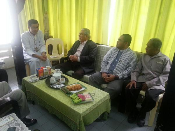 Pas meeting with Julian Leow