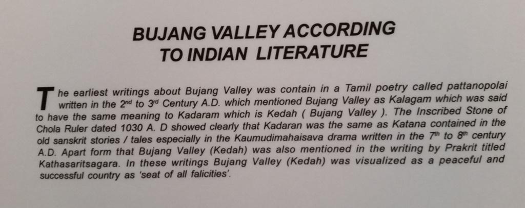 Bujang valley Indian literature
