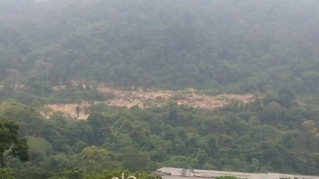 Bukit Kukus clearing Aug 2016