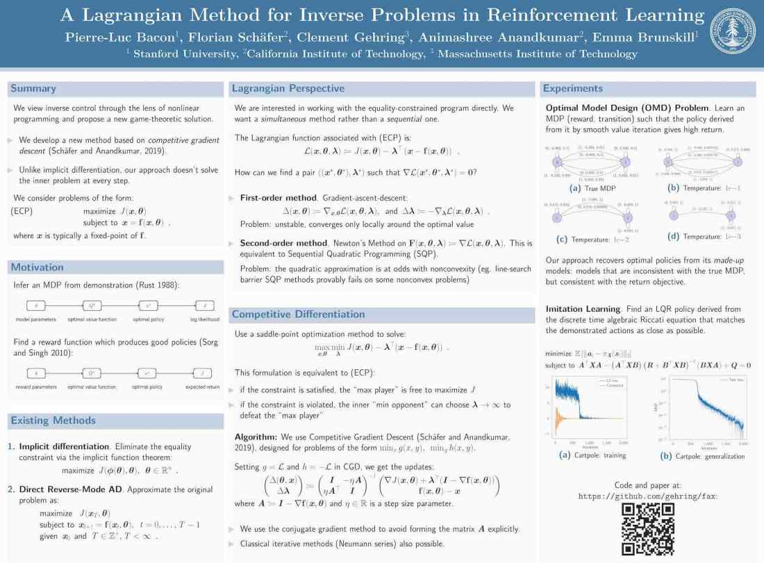 Poster_A_Lagrangian_Method_for_Inverse_Problems_in_Reinforcement_Learning