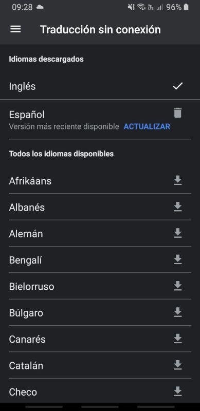traductor de google sin conexión
